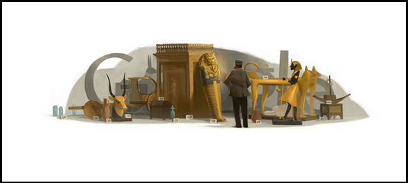 138° compleanno di Howard Carter