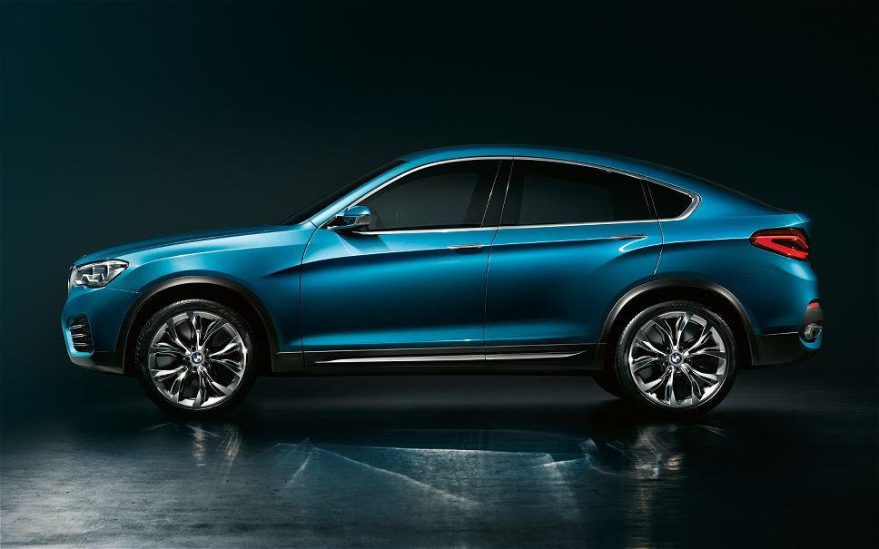 BMW-Concept-X4-side